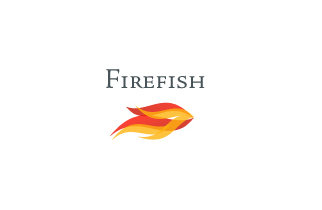 fire fish logo 18 Logo Design Inspiration Fish Design